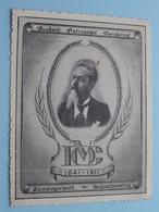 """"""" JONG Maar MOEDIG """" Koninklijke Katholieke TURNKRING WAARSCHOOT 1949 : Formaat Gekarteld 13,5 X 10 Cm. ( Zie Foto's) ! - Other"""