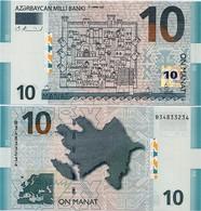 AZERBAIJAN       10 Manat       P-27       2005       UNC - Azerbaïdjan