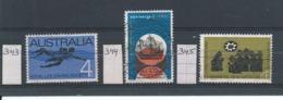 Australië    Y/T   343 - 344 - 345    (O) - 1966-79 Elizabeth II