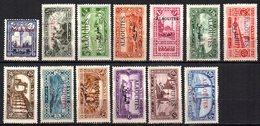 Col9   Alaouites : N° 22 à 34  Neuf  X MH Et 33 Obl  , Cote : 23,50 Euro - Alaouites (1923-1930)