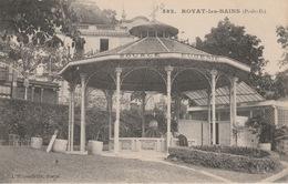 18 / 6 / 33  -  ROYAT  ( 63 )  -  KIOSQUE - Royat
