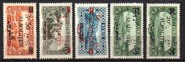 Col9   Alaouites : N° 35 à 40 Sauf 37  Neuf  X MH   , Cote : 14,00 Euro - Alaouites (1923-1930)