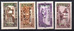 Col9   Alaouites  PA : N° 5 à 8  Neuf  X MH   , Cote : 16,00 Euro - Alaouites (1923-1930)