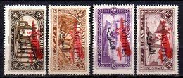 Col9   Alaouites  PA : N° 9 à 12  Neuf  X MH   , Cote : 15,00 Euro - Alaouites (1923-1930)