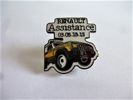 PINS  AUTOMOBILE RENAULT ASSISTANCE / JEEP  / 33NAT - Renault