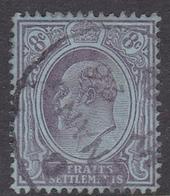 Malaysia-Straits Settlements SG 126 1904 King Edward VII, 8c Purple Blue, Used - Straits Settlements