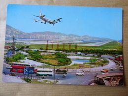 AIRPORT / FLUGHAFEN / AEROPORT    CHEK LAP KOK  HONG KONG  B 707 AIR FRANCE - Aerodromes