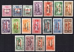 Col9  Lattaquié : N° 1 à 19 Sauf 8  Neuf  X MH Et 5 Obl  , Cote : 192,00 Euro - Unused Stamps