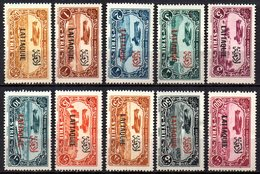 Col9  Lattaquié : PA N° 1 à 11 Sauf 2  Neuf  X MH  , Cote : 165,00 Euro - Unused Stamps