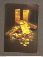 GOLD MAPLE LEAF COINS AND OTHER GOLD BULLION PRODUCTS CARTOLINA   NON VIAGGIATA - Monete (rappresentazioni)