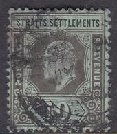 Malaysia-Straits Settlements SG 164 1910 King Edward VII, 50c Black Green, Used - Straits Settlements