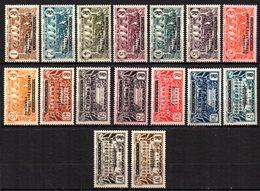 Col9  AEF Afrique :  N° 1 à 16   Neuf  X MH  , Cote : 210,00 Euro - A.E.F. (1936-1958)