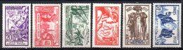Col9  AEF Afrique :  N° 27 à 32   Neuf  X MH  , Cote : 24,00 Euro - A.E.F. (1936-1958)