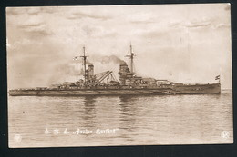 Foto AK/CP Kaiserliche Marine  SMS  Großer Kurfürst   Gel/circ. 1915   Erhaltung/Cond. 2  Nr. 00462 - Guerre