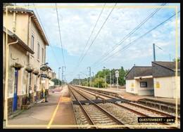 56  QUESTEMBERT .... La  Gare  ... Les Quais - Questembert