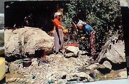 TURCHIA TURKEY HER HAKKI MAHFUZDUR LAVANDAIE LAVANO PANNI A TORRENTE E ACQUA CALDA N1975 GS1372 - Turchia