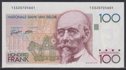 Belgien 100 Francs (ND 1982-1994) UNC - [ 2] 1831-... : Belgian Kingdom