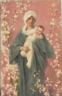 Firenze Madonna Della Primavera. Nicolò Barabino - Virgen Mary & Madonnas