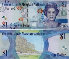 CAYMAN IS.        1 Dollar       P-38d       2014       UNC  [ Prefix: D/4 ] - Isole Caiman