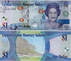 CAYMAN IS.        1 Dollar       P-38d       2014       UNC  [ Prefix: D/4 ] - Kaaimaneilanden