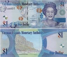 CAYMAN IS.        1 Dollar       P-38[e]       2014       UNC  [ Prefix: D/5 ] - Isole Caiman