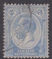 Malaysia-Straits Settlements SG 232 1922 King George V, 12c Blue, Used - Straits Settlements