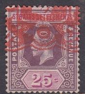 Malaysia-Straits Settlements SG 234 1927 King George V, 25c Purple And Mauve, Used - Straits Settlements