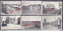 Au Plus Rapide Madagascar 1931 Diego Suarez Hôtel François Port Bateau Rue Animation - Lieux