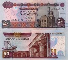 EGYPT        50 Pounds         P-66       27.10.2009        UNC  [ Sign. El-Okda ] - Egitto