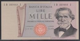 Italia 1000 Lire 11.03.1971 UNC - [ 2] 1946-… : Républic
