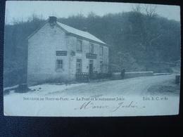 HOUT-SI-PLOU : Le Pont Et Le Restaurant JOKIR En 1905 - Neupré