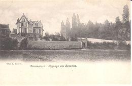Peruwelz - CPA - Bonsecours - Paysage Des Broutins - Péruwelz