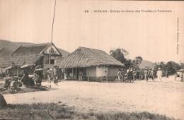 RARE  VIET NAM KIEN AN  ENTREE DU CAMP DES TIRAILLEURS TONKINOIS PAS CIRCULEE - Viêt-Nam