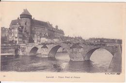CPA -  30. LAVAL Vieux Pont Et Prison - Laval