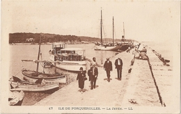 83 Ile De Porquerolles, La Jetée  (3136) - Porquerolles