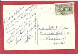 Y&T N°310A MONACO     Vers  FRANCE 1947  2 SCANS - Briefe U. Dokumente