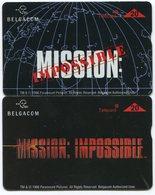 1828 - MISSION: IMPOSSIBLE - 2 Diverse Movie / Film Telefonkarten - Motos