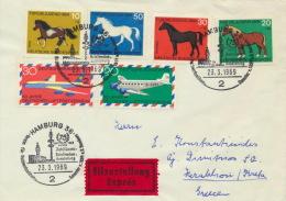 BRD 576/81 Auf Auslands-Eilbrief - Briefe U. Dokumente
