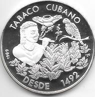 *cuba 5 Pesos 1989 Km 227.1  Proof - Cuba