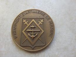 Médaille 1 Régiment D'artillerie De Marine - France