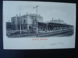 HERBESTHAL : Bahnhof En 1904 - Lontzen