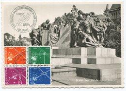 1834 - 1952 Nachrichtenwesen Auf MAXIMUMKARTE - Maximumkarten (MC)