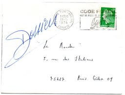 CORREZE - Dépt N° 19 = BRIVE PONT CARDINAL 1974 = FLAMME SECAP Multiple ' CODE POSTAL / Mot Passe' - Code Postal