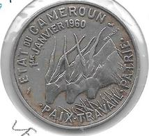 *cameroon 50 Francs 1960 Km 13 Vf+ - Cameroon