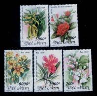 Vietnam Viet Nam MNH Perf Stamps 1992 : Flowers / Flower (Ms647) - Vietnam