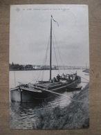 Cpa Visé - Chaland à Grains Au Bord De La Meuse - SBP - Edition Martin Soeurs - 1907 - Visé