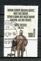 GERMANY Mi.Nr. 2832 200. Geburtstag Von Fritz Reuter  - Used - Used Stamps