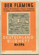 Nr.194 Deutschland-Bildheft - Der Fläming - Coswig - Wiesenburg - Belzig - Niemegk - Jüterbog - Luckenwalde - Brandenburg
