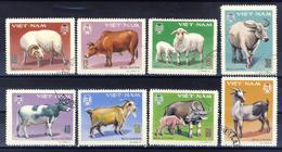 Vietnam -  1979 Two Complete Series Of Canceled Postage Stamps (read Descriptions) 2 Photos - Vietnam