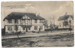 CPA PK  CHARBONNAGES DE WINTERSLAG GENCK  HOTEL DU JEU DE BALLE - Belgique